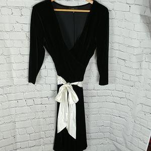 Black Velvet Special Occasion Dress
